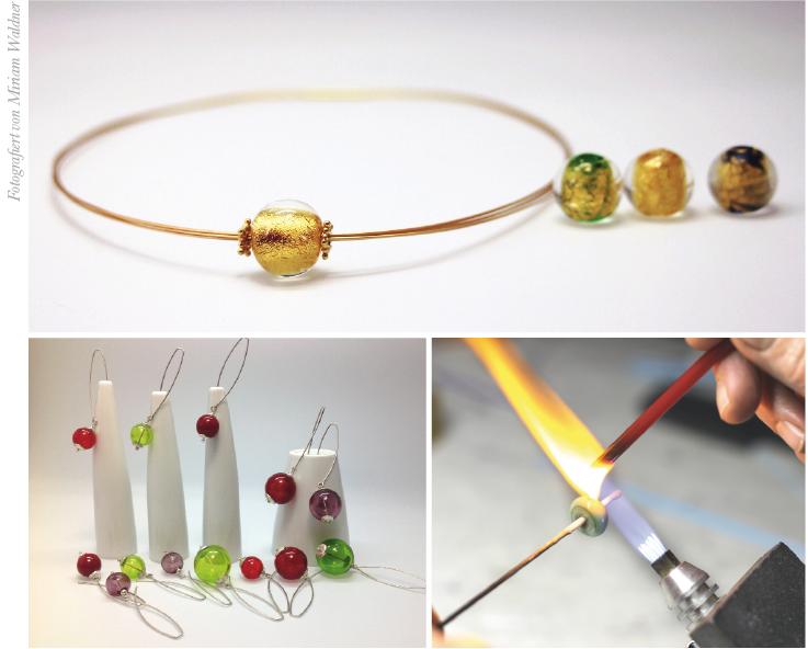 Atelier PERLATERIA - Atelier für handgefertigte Glasperlen & Schmuckdesign