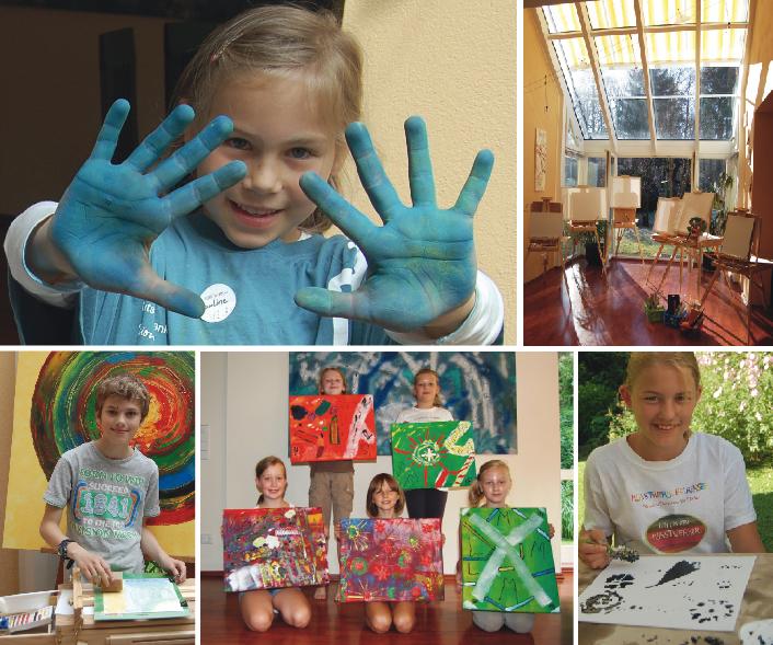 Kunstwerk Falkensee - Feriencamps und Geburtstagskurse