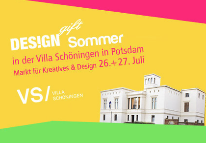 DESIGNGIFT SOMMER 2014 in Potsdam