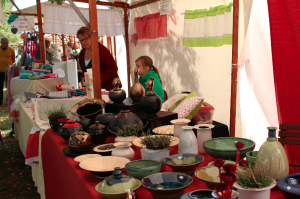 Kunstmeile zum Stadtfest 2015 - Margit Schober Keramik