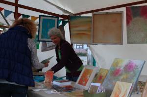 Kunstmeile zum Stadtfest 2015 - Petra