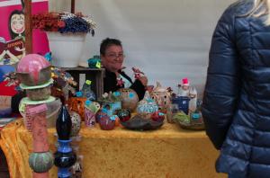 Kunstmeile zum Stadtfest 2015 - Keramik-Kreativ-Werkstatt