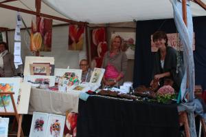 Kunstmeile zum Stadtfest 2015 - Andrea Hagist und Isabell Bachert
