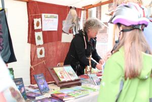 Kunstmeile zum Stadtfest 2015 - Uta Munziger von Farbfrisch