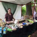 Constanze Rühmann mit Ihrer wunderbaren Seifenmanufaktur auf dem Hexenmarkt