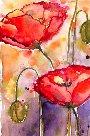 Andrea Hagist - Workshop Aquarellmalerei